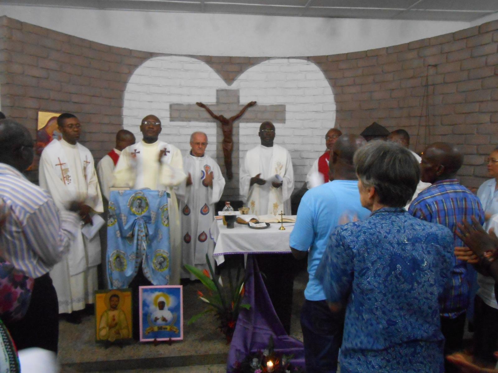 Festlicher Gottesdienst in der Kapelle der Fraternität